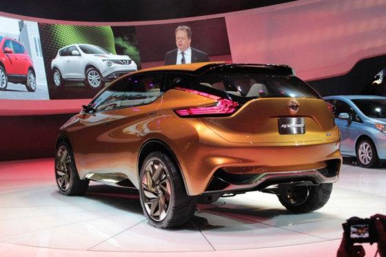 Кормовая часть Nissan Murano 2015