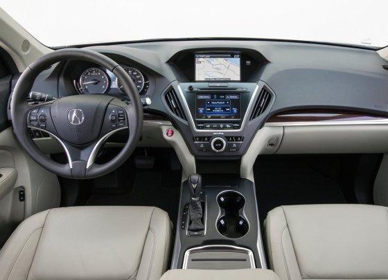 Приборная панель Acura MDX 2014