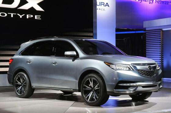Внешний вид Acura MDX 2014
