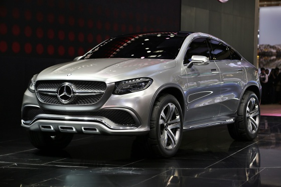 Mercedes-Benz MLC фото с выставки