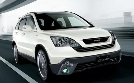 Фото новой Honda CR-V 2