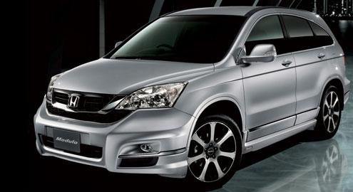Рестайлинг Honda CR-V 2