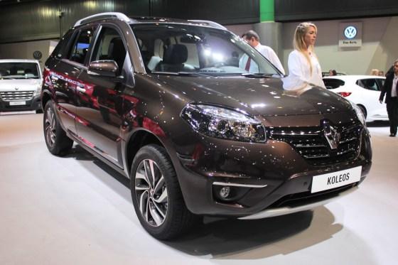 Премьера нового Renault Koleos 2014
