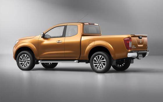 Nissan Navara 2015 - внешний вид