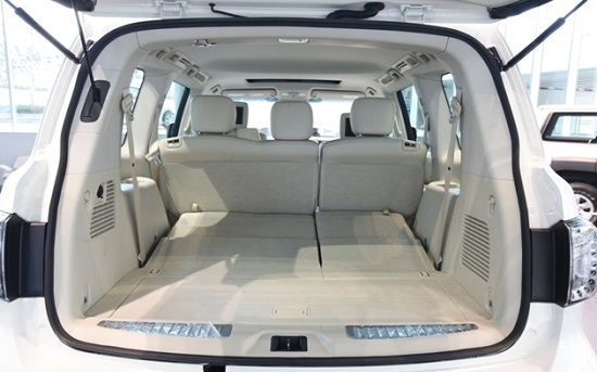 Багажник Nissan Patrol 2014