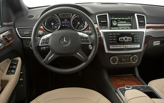 Приборная панель Mercedes-Benz GL 350 BlueTec