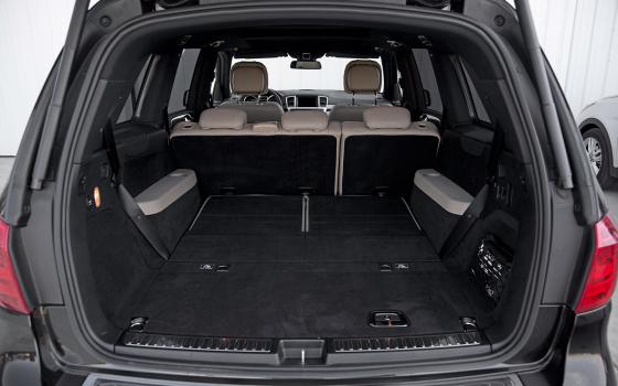 Багажник Mercedes-Benz GL 350 BlueTec