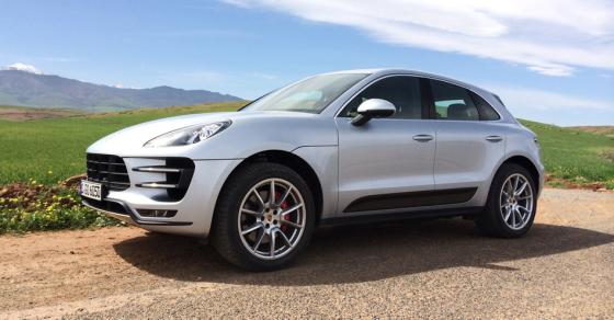 Экстерьер Porsche Macan 2014
