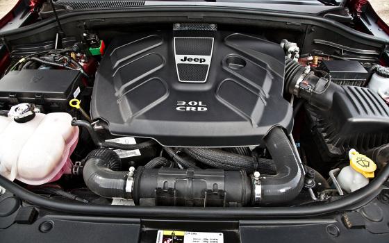 Технические характеристики  Jeep Grand Cherokee 2014