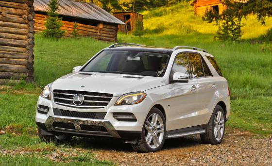 Mercedes-Benz GL 350 BlueTec 2014