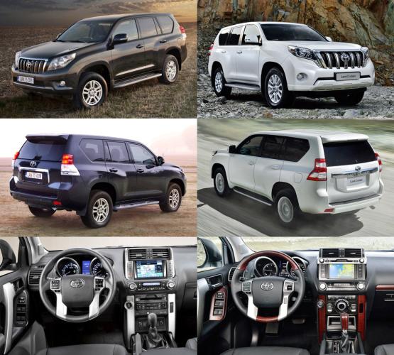 Что нового в  обновленном Toyota Land Cruiser Prado?