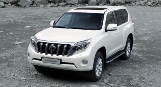 Внешний вид Toyota Land Cruiser Prado 2014