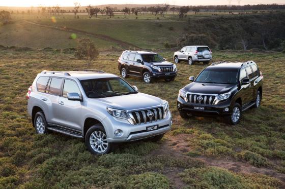 Toyota Prado: Kakadu, VX, GXL и GX