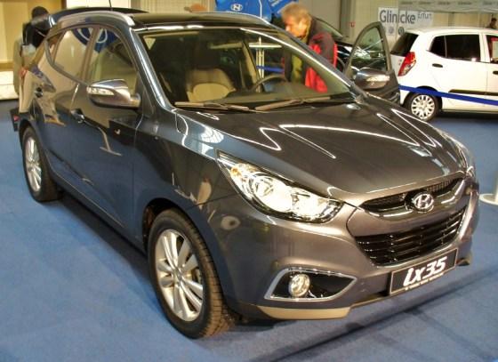 Новый Hyundai ix35 внешний вид