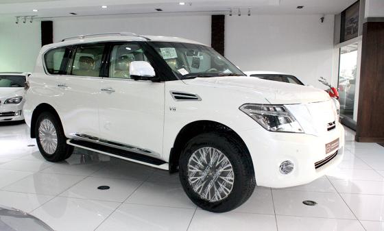 Nissan Patrol 2014 внешний вид