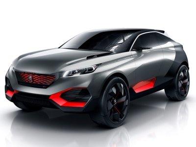 Peugeot покажут гибридный кроссовер мощностью 499 лошадей