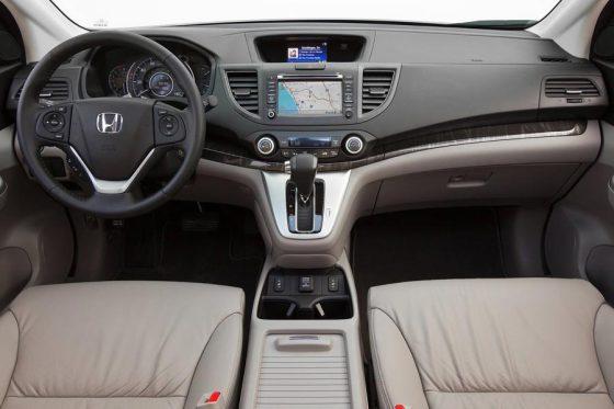 Салон новой Honda CR-V 2