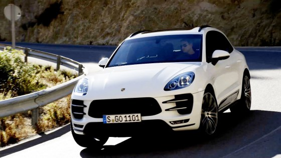 Кроссовер Porsche Macan 2014