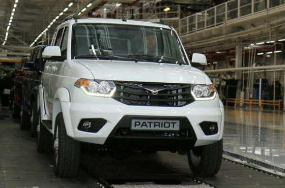 УАЗ Патриот выйдет уже в начале ноября 2014 года!