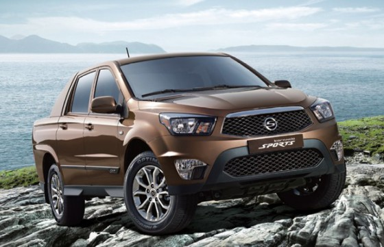 Фото SsangYong Actyon Sports 2014