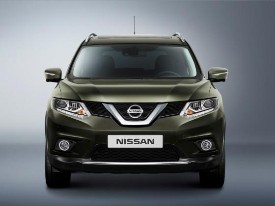 Внешний вид Nissan X-Trail 2014