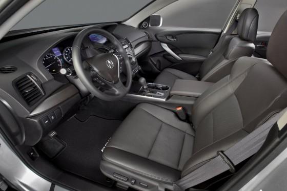 Салон Acura МDX 2014
