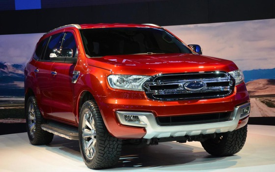 Ford Everest 3 2015 модельного года