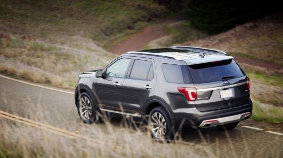 Внешний вид Ford Explorer 2016