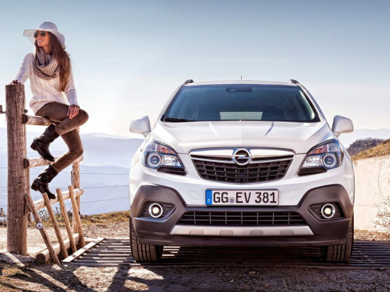 Внешний вид Opel Mokka
