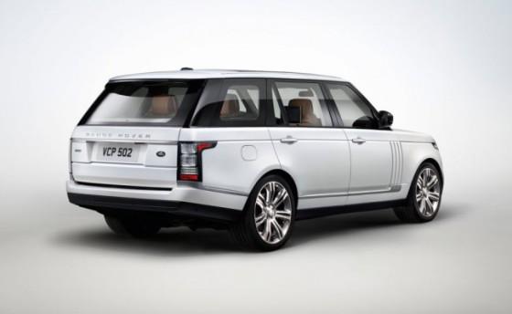 Удлиненный Range Rover фото