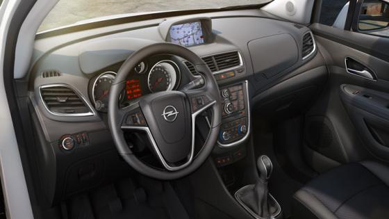 Приборная панель Opel Mokka