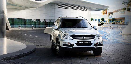 Багажник SsangYong Rexton W - обновленный внедорожник