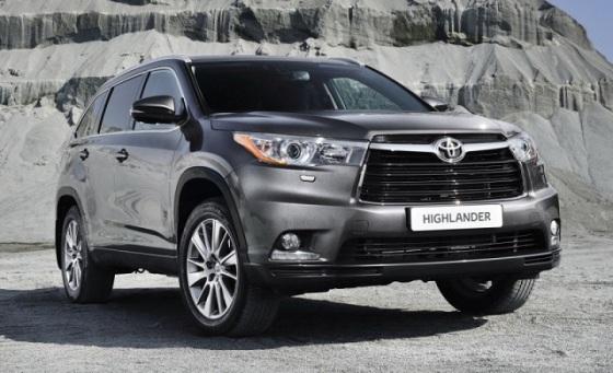 Внешний вид Toyota Highlander 2015