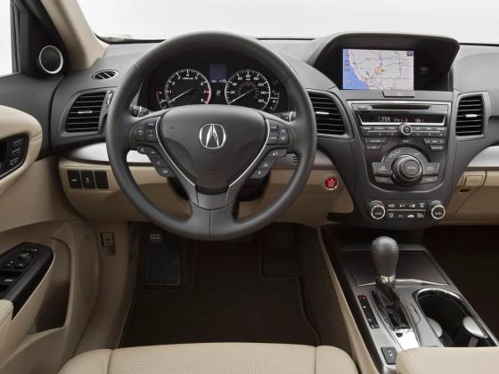 Приборная панель Acura МDX 2014