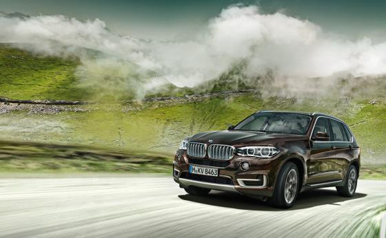 Сила и роскошь внедорожника BMW X5