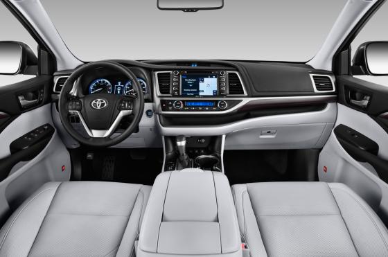 Приборная панель Toyota Highlander 2015