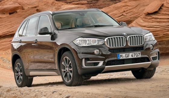 Внешний вид BMW X5 2014