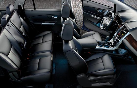 Салон нового Ford Edge 2015