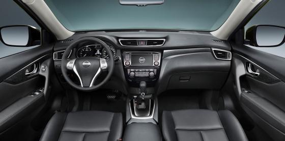 Салон Nissan X-Trail 2014