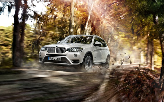Внешний вид новой BMW X3 2015