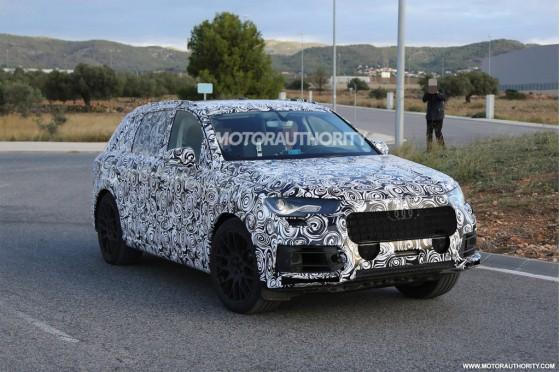 Внешний вид Audi Q7 2015