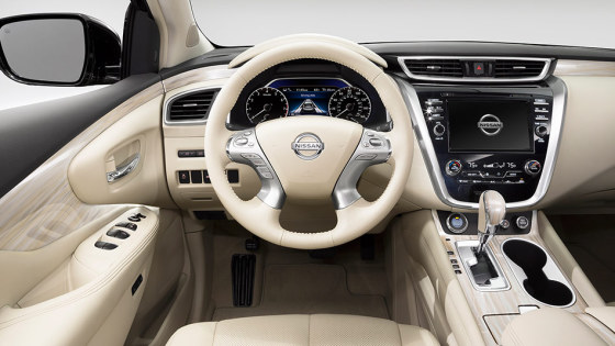 Салон Nissan Murano 2015