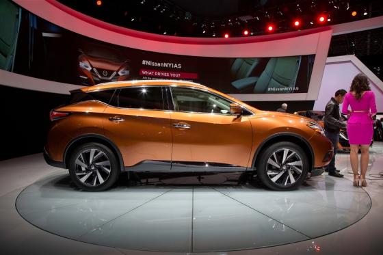 Новый кроссовер Nissan Murano 2015