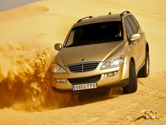 Фото SsangYong New Kyron
