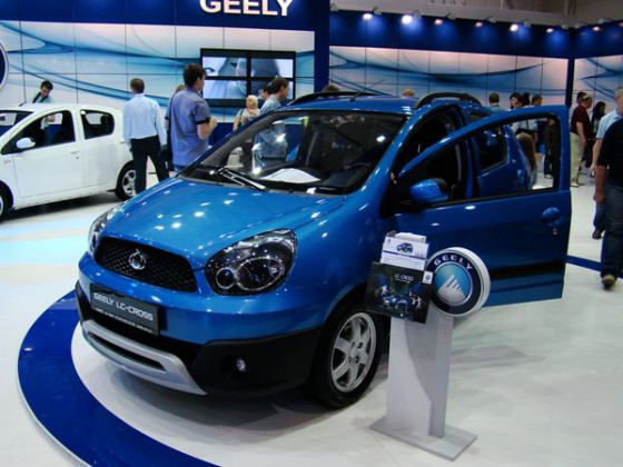 Geely LC Cross - премьера