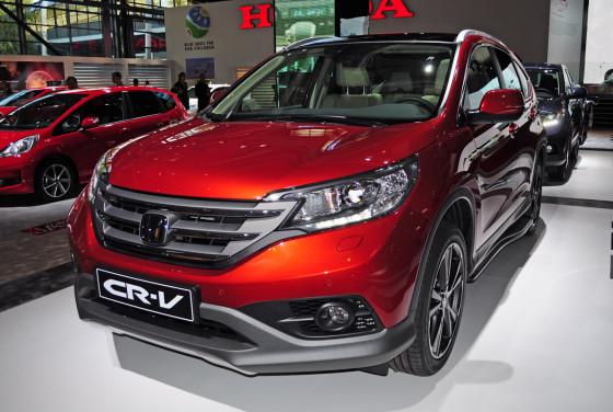 Новая Honda CR-V 4