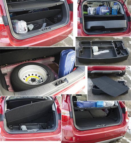 Багажник Changan CS35