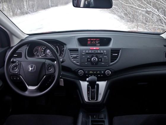 Салон Honda CR-V 4