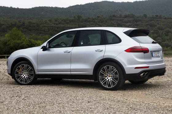 Внешний вид нового Porsche Cayenne