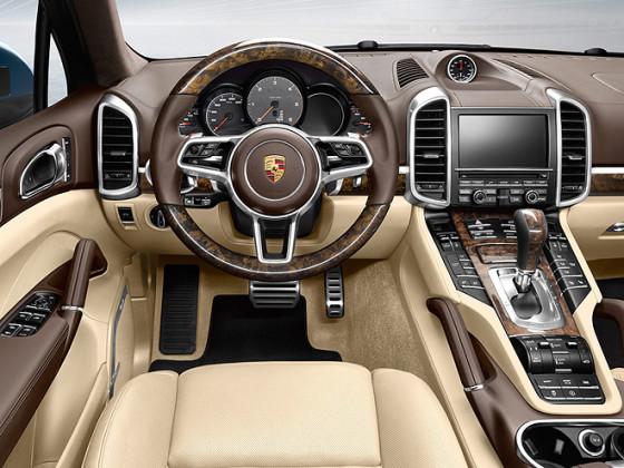 Приборная панель Porsche Cayenne 2015
